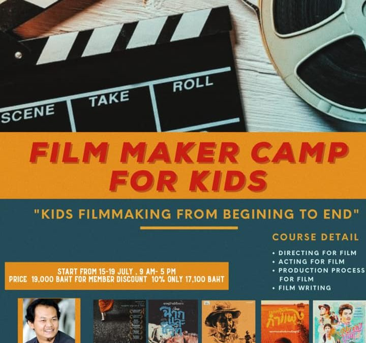 Film Making Camp for Kids in Bangkok