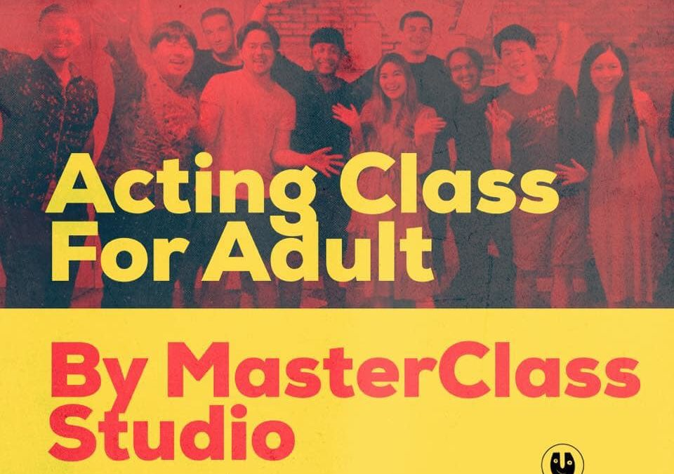 Fundamentals of Acting Course by Robin Schroeter in Bangkok