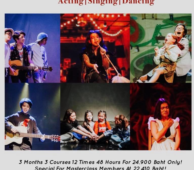 Performing Arts Course for Kids in Bangkok