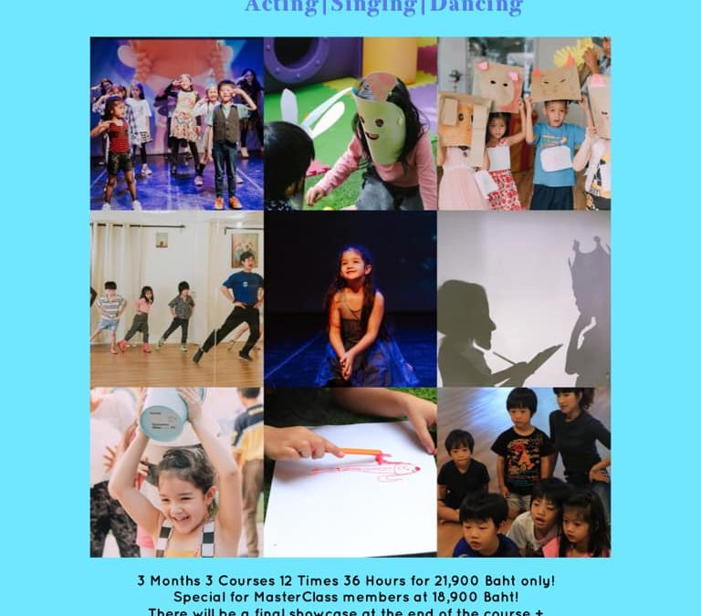 Performing Arts Course for Young Kids (4-6 Year Olds)