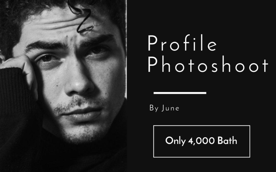 Profile Shoot / Headshots at MasterClass Studio Bangkok