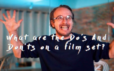 Do's and Don'ts on a Film Set